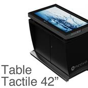 Table Tactile 42